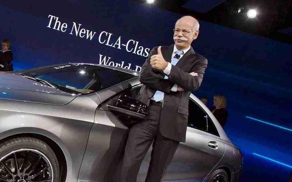 BMW se despide de Dieter Zetsche con una trolleada épica a Mercedes 1