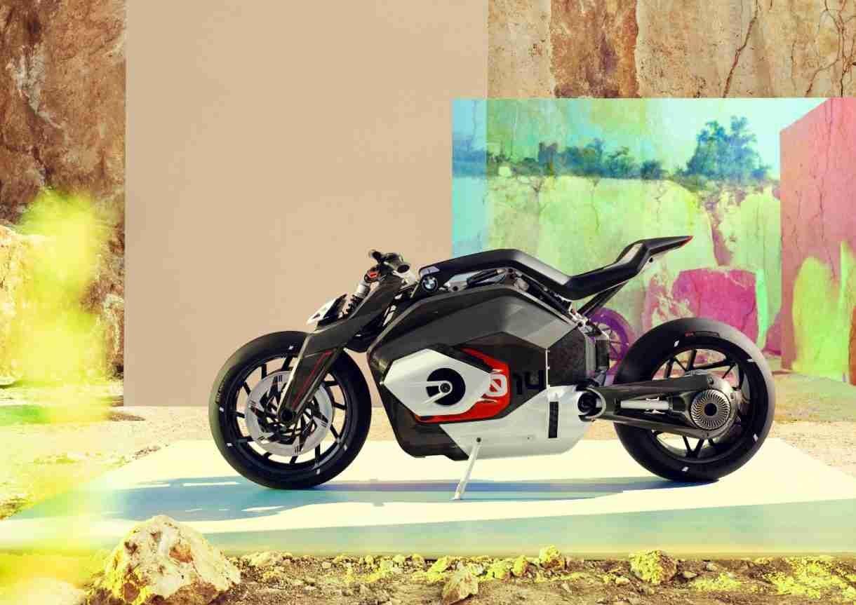 BMW Vision DC Roadster, la base de las futuras motocicletas eléctricas de la marca 1