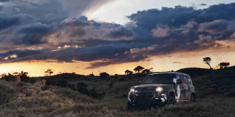 El nuevo Land Rover Defender pasa sus últimas pruebas en Kenia 1