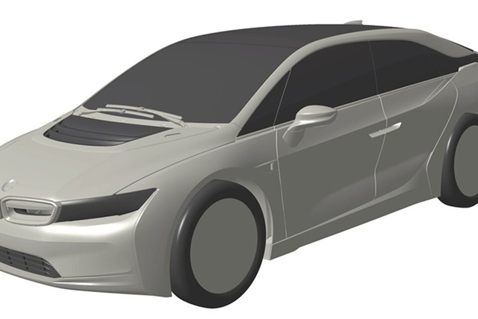 Render frontal del BMW i5